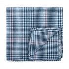 Dutch Blue Check Pocket Square #AB-TPH1007/5