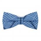 Regatta Blue Check Bow Tie #AB-BB1007/2