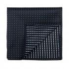 Black Fine Polka Dot Pocket Square #AB-TPH1017/1