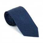 Navy Fine Polka Dot Tie #AB-T1017/2