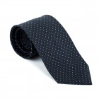 Black Fine Polka Dot Tie #AB-T1017/1