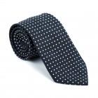 Black Polka Dot Tie #AB-T1018/1