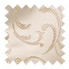 Cream Swirl Leaf Swatch #AB-SWA1000/11