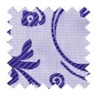 Purple Swirl Leaf Swatch #AB-SWA1000/19