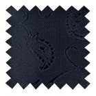 Black on Black Budding Paisley Swatch #AB-SWA1003/4