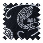 Moonlight Black Budding Paisley Swatch #AB-SWA1003/5