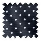 Black Polka Dot Swatch #AB-SWA1018/1