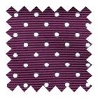 Wine Polka Dot Swatch #AB-SWA1018/3
