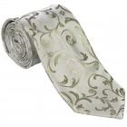 Emerald Green Swirl Leaf Wedding Tie #AB-T1000/12