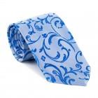 Blue Swirl Leaf Tie #AB-T1000/18