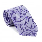 Purple Swirl Leaf Tie #AB-T1000/19