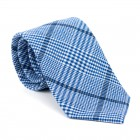 Regatta Blue Check Tie #AB-T1007/2