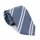 Navy Blue Pastel Stripe Tie #AB-T1016/3