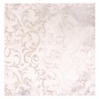 Ivory Bridal Blush Swirl Leaf Wedding Pocket Square #AB-TPH1000/13