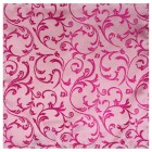 Hot Pink Swirl Leaf Wedding Pocket Square #AB-TPH1000/5