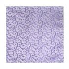 Lilac Royal Swirl Wedding Pocket Square #AB-TPH1001/1