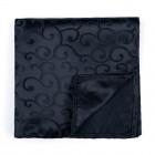 Black on Black Royal Swirl Pocket Square #AB-TPH1001/8