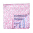 Pink Ditsy Floral Pocket Square #AB-TPH1013/1