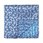 Navy Blue Ditsy Floral Pocket Square #AB-TPH1013/4